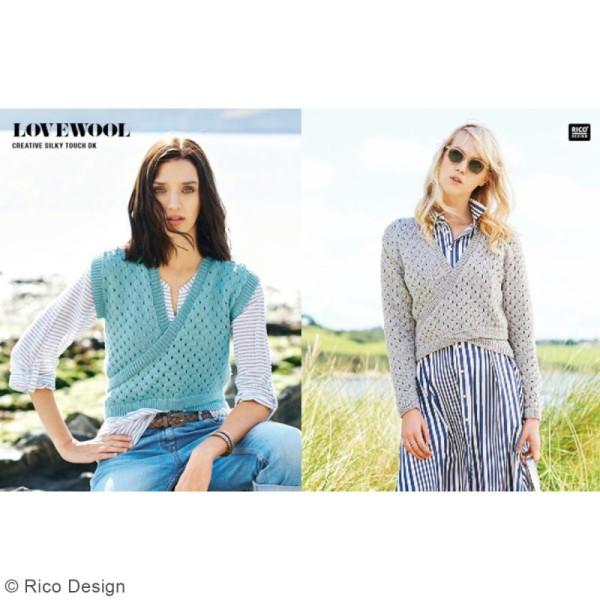 Laine Rico Design - Creative Silky Touch Dk - 100 gr - 100% acrylique - Photo n°2