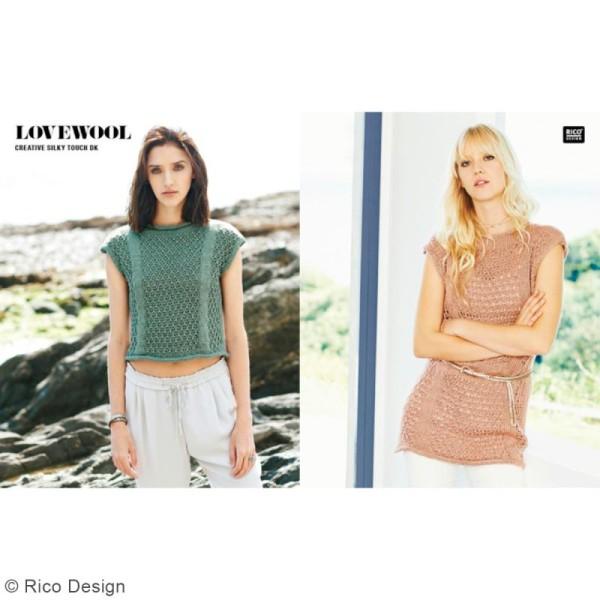Laine Rico Design - Creative Silky Touch Dk - 100 gr - 100% acrylique - Photo n°3