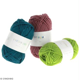 Fil à crocheter en coton Rico Design - Ricorumi - 25 g
