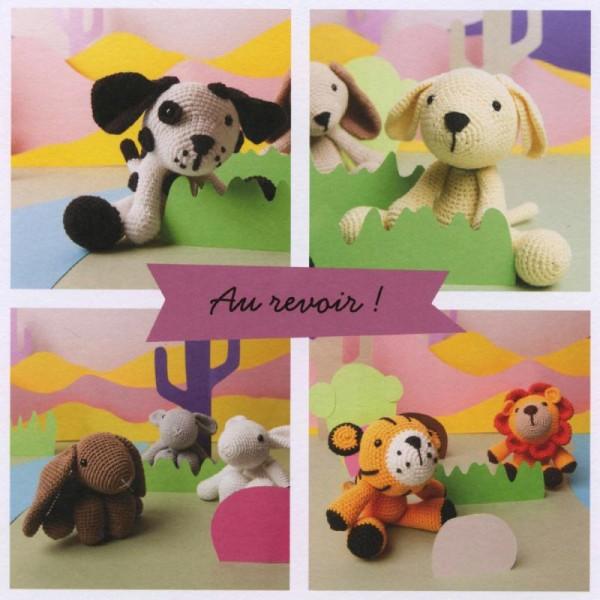 Livre crochet Ricorumi - Amigurumi Puppies - 9 modèles - Photo n°2