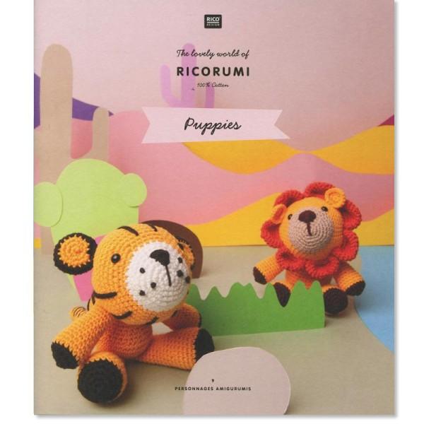 Livre crochet Ricorumi - Amigurumi Puppies - 9 modèles - Photo n°1