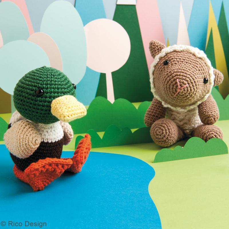 Livre crochet Ricorumi - Amigurumi Friends - 6 modèles - Photo n°4