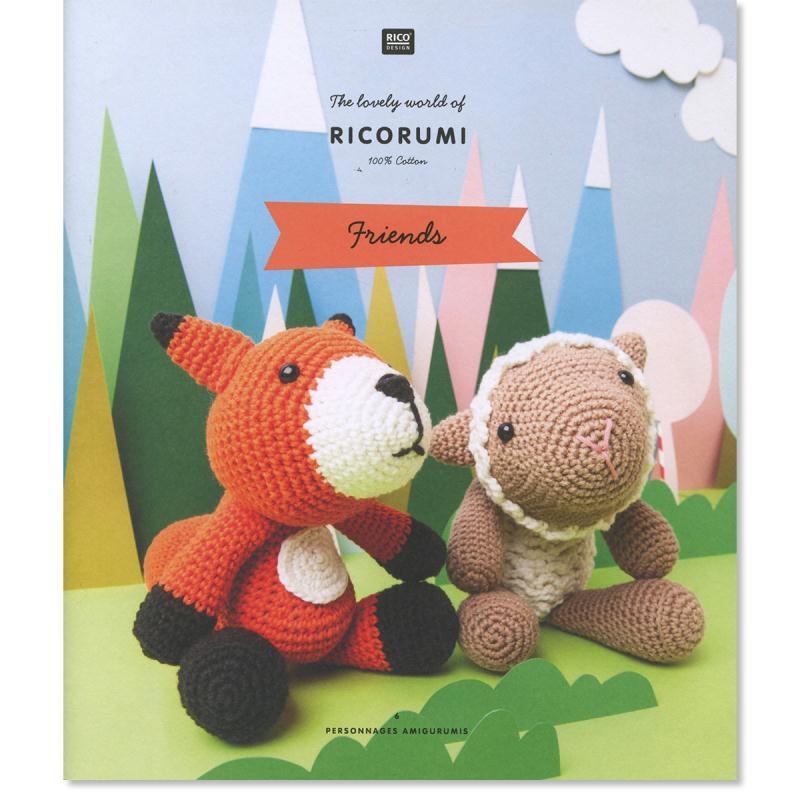 Livre crochet Ricorumi - Amigurumi Friends - 6 modèles - Photo n°1