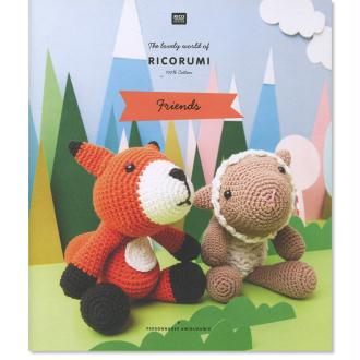 Livre crochet Ricorumi - Amigurumi Friends - 6 modèles