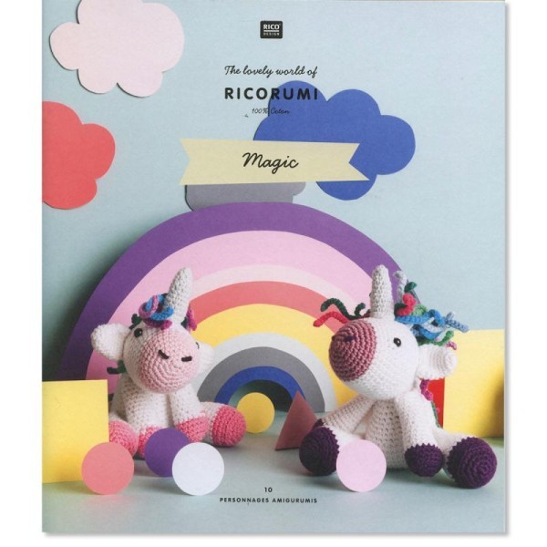 Livre crochet Ricorumi - Amigurumi Magic - 10 modèles - Photo n°1