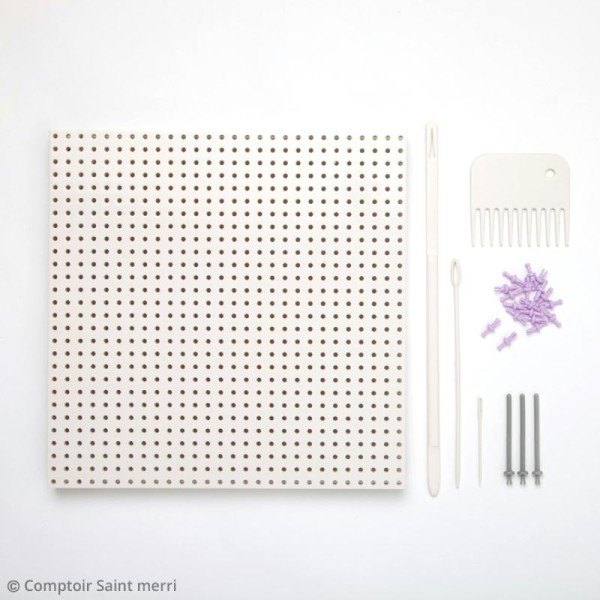 Métier à tisser modulable Martha Stewart - 141 pcs - Photo n°4
