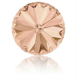 Perle strass ronde Swarovski SS39 1088 light peach