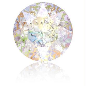 Perle strass ronde Swarovski SS39 1088 white patina