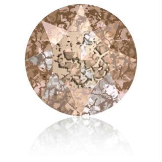 Perle strass ronde Swarovski SS39 1088 rose patina