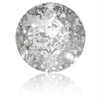 Perle strass ronde Swarovski SS39 1088 silver patina