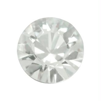 Perle strass ronde Swarovski SS39 1088 crystal