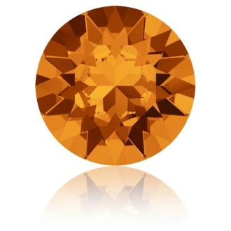 Perle strass ronde Swarovski SS39 1088 tangerine