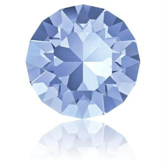 Perle strass ronde Swarovski SS39 1088 light sapphire foiled