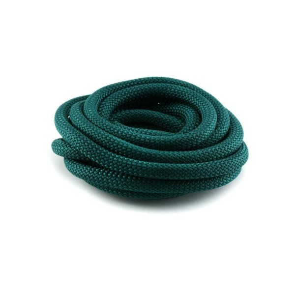 Corde Escalade 10 mm vert foncé x1 m - Photo n°1