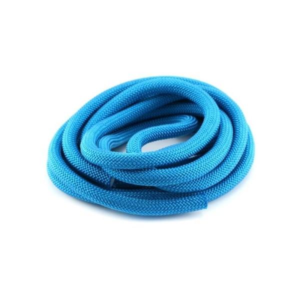 Corde Escalade 10 mm bleu pétrole x1 m - Photo n°1