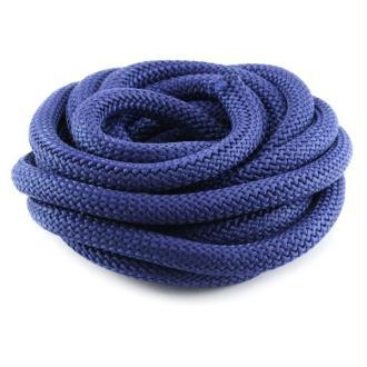 Corde Escalade 10 mm bleu foncé x1 m