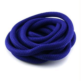 Corde Escalade 10 mm bleu électrique x1 m