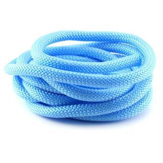 Corde Escalade 10 mm bleu ciel x1 m