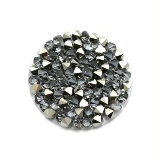 Crystal rock 15 mm metallic Swarovski