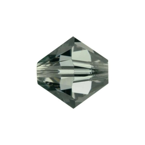 TOPAZ 4mm TOUPIES SWAROVSKI 25 Perles Cristal