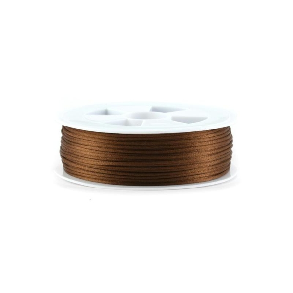Queue de rat marron 1,5 mm x1 m - Photo n°1