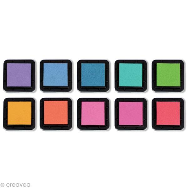 Kit 10 encreurs Stampo'colors pastel - Photo n°2