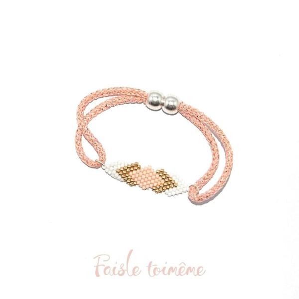 nouveau authentique belle et charmante Nouvelle liste Bracelet delicas - tissage