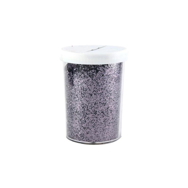 Pot 115grs poudre Glitter 0.6 mm anthracite - Photo n°1