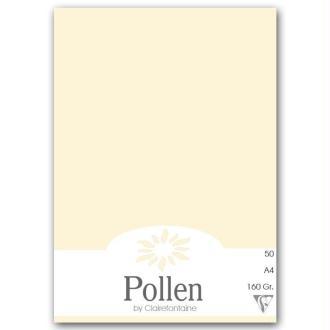 Papier Pollen A4 50 feuilles Ivoire