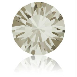 Perle strass ronde Swarovski SS39 1088 C. Silver Shade Foiled