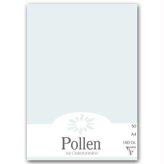 Papier Pollen A4 50 feuilles - Bleu