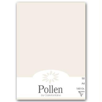 Papier Pollen A4 50 feuilles Blanc