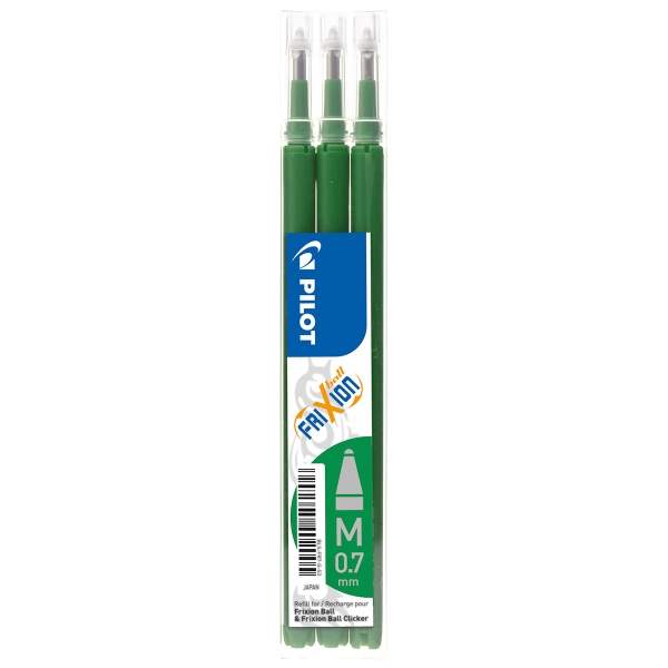 Recharge pour roller Frixion-Ball - BLS-FR7 - Vert - Photo n°1