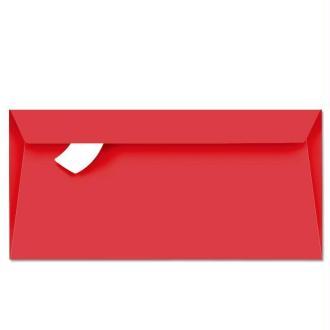 Enveloppe Pollen 110 x 220 Rouge groseille x 20