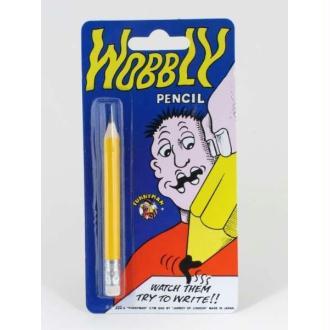Crayon à papier en bois à mine molle et gomme