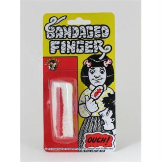 Bandage ensanglanté pour le doigt grande taille pour doigts larg