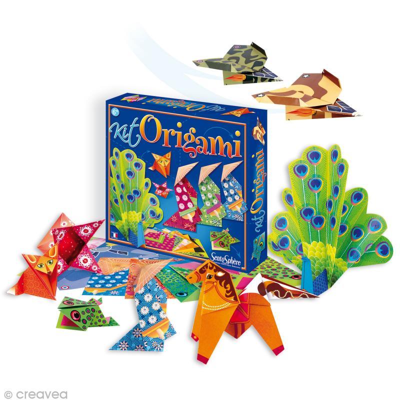 Papier origami Kit pour débutant - 21 feuilles - Photo n°1