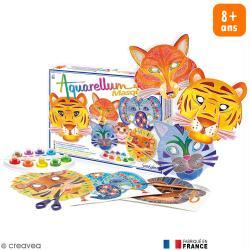Masque à décorer Aquarellum x 6