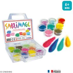 Set de 22 pots de sable Sablimage
