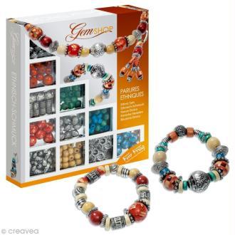 Coffret de perles GemShop - Parures ethniques