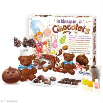Kit créatif Le kiosque à chocolats