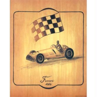 Image 3D - Ferrari - 24 x 30 cm