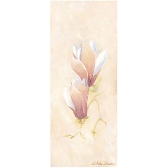Image 3D - Crocus blancs - 20 x 50 cm