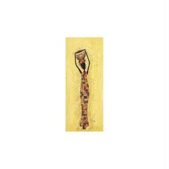 Image 3D - Africaine fine - 20x 50 cm