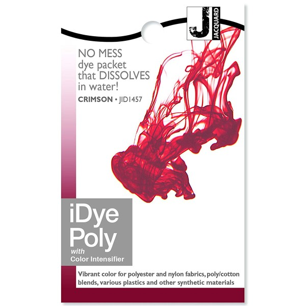 Teinture Polyester iDye Poly - Bordeaux - 14 g - Photo n°1