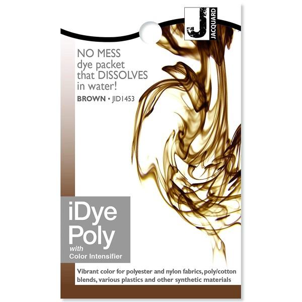 Teinture Polyester iDye Poly - Marron - 14 g - Photo n°1