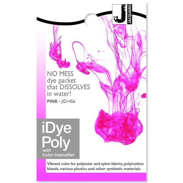 Teinture Polyester iDye Poly - Rose fuchsia - 14 g - Photo n°1