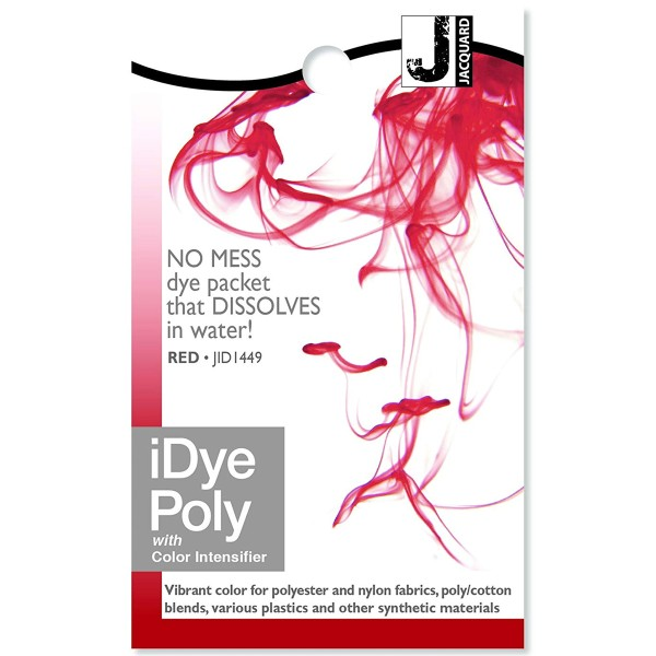 Teinture Polyester iDye Poly - Rouge - 14 g - Photo n°1