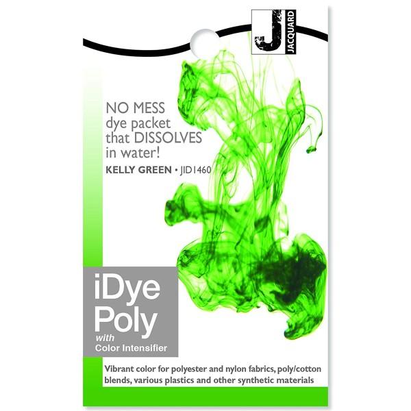 Teinture Polyester iDye Poly - Vert prairie - 14 g - Photo n°1