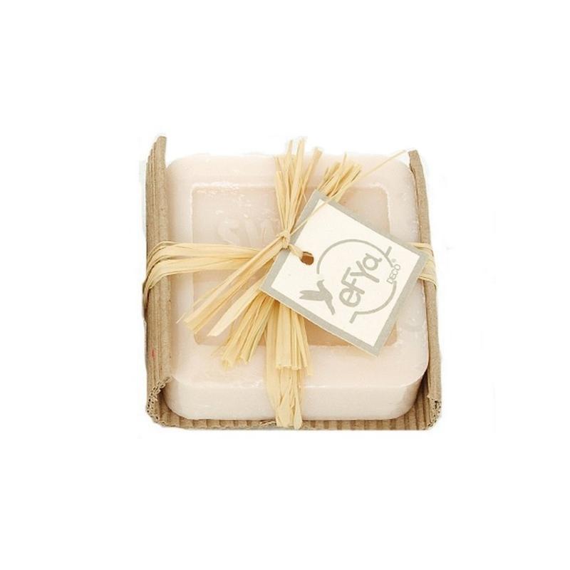 Savon de forme carr blanc la fleur de coton 100 gr 6 for Poser de la ceramique salle de bain